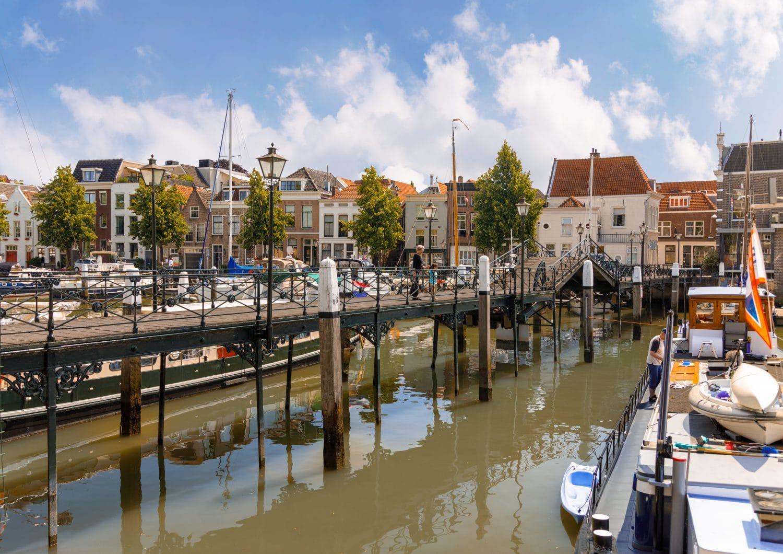 Nieuwe Haven, Lange IJzerenbrug